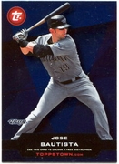 2011 Topps Opening Day Topps Town Codes Jose Bautista Baseball Card