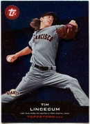 2011 Topps Opening Day Topps Town Codes Tim Lincecum Baseball Card