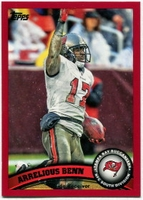 2011 Topps Red Arrelious Benn NFL Football Card