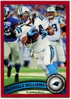 2011 Topps Red DeAngelo Williams NFL Football Card
