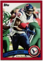 2011 Topps Red Jacoby Jones NFL Football Card