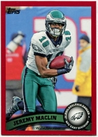 2011 Topps Red Jeremy Maclin NFL Football Card