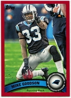 2011 Topps Red Mike Goodson NFL Football Card
