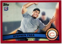 2011 Topps Red Stephen Paea NFL Football Card