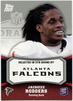 2011 Topps Rising Rookies Jacquizz Rodgers Rookie NFL Football Card