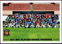 2011 Topps Rookies Premiere NFL Football Card