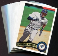 2011 Topps San Diego Padres Baseball Cards Team Set