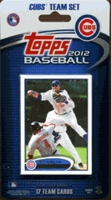 2012 Chicago Cubs Topps MLB Factory Baseball Cards Team Set