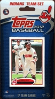 2012 Cleveland Indians Topps MLB Factory Baseball Cards Team Set