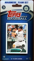 2012 Seattle Mariners Topps MLB Factory Baseball Cards Team Set