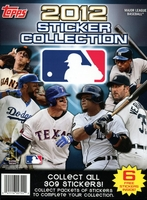 2012 Topps Baseball Sticker Paperback Album