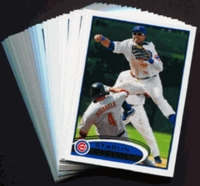 2012 Topps Chicago Cubs Baseball Cards Team Set