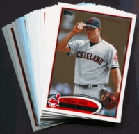 2012 Topps Cleveland Indians Baseball Cards Team Set