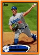 2012 Topps Factory Set Orange Chris Capuano Baseball Card