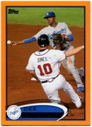 2012 Topps Factory Set Orange Dee Gordon Baseball Card