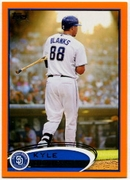 2012 Topps Factory Set Orange Kyle Blanks Baseball Card