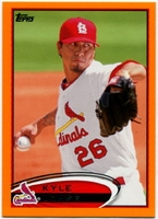 2012 Topps Factory Set Orange Kyle Lohse Baseball Card