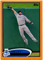 2012 Topps Factory Set Orange Melky Cabrera Baseball Card