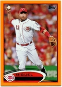 2012 Topps Factory Set Orange Miguel Cairo Baseball Card
