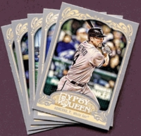 2012 Topps Gypsy Queen Chicago White Sox Baseball Cards Team Set