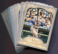 2012 Topps Gypsy Queen Cleveland Indians Baseball Cards Team Set