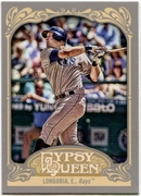 2012 Topps Gypsy Queen Evan Longoria Short Print Variation Baseball Card