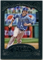 2012 Topps Gypsy Queen Framed Blue Eric Hosmer Baseball Card