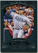 2012 Topps Gypsy Queen Framed Blue Evan Longoria Baseball Card