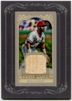 2012 Topps Gypsy Queen Framed Mini Relics Ozzie Smith Baseball Card
