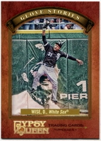 2012 Topps Gypsy Queen Glove Stories Dewayne Wise Baseball Card