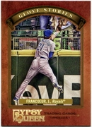2012 Topps Gypsy Queen Glove Stories Jeff Francoeur Baseball Card