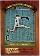 2012 Topps Gypsy Queen Glove Stories Ken Griffey Jr. Baseball Card