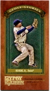 2012 Topps Gypsy Queen Glove Stories Mini Ben Revere Baseball Card