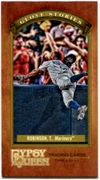 2012 Topps Gypsy Queen Glove Stories Mini Trayvon Robinson Baseball Card