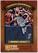 2012 Topps Gypsy Queen Glove Stories Trayvon Robinson Baseball Card