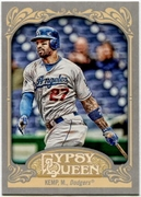2012 Topps Gypsy Queen Matt Kemp Short Print Variation Baseball Card