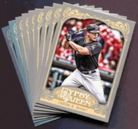 2012 Topps Gypsy Queen Miami Marlins Baseball Cards Team Set