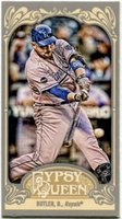 2012 Topps Gypsy Queen Mini Billy Butler Baseball Card #3