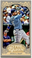 2012 Topps Gypsy Queen Mini Billy Butler Baseball Card #301