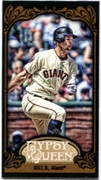 2012 Topps Gypsy Queen Mini Black Brandon Belt Baseball Card