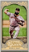 2012 Topps Gypsy Queen Mini Brian Wilson Variation Baseball Card