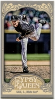 2012 Topps Gypsy Queen Mini Chris Sale Baseball Card