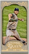 2012 Topps Gypsy Queen Mini Clayton Kershaw Variation Baseball Card