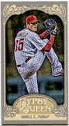 2012 Topps Gypsy Queen Mini Cole Hamels Baseball Card