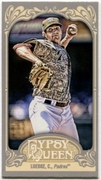 2012 Topps Gypsy Queen Mini Cory Luebke Baseball Card