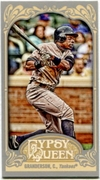 2012 Topps Gypsy Queen Mini Curtis Granderson Variation Baseball Card