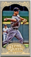 2012 Topps Gypsy Queen Mini David Freese Variation Baseball Card