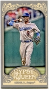 2012 Topps Gypsy Queen Mini Dee Gordon Baseball Card