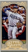 2012 Topps Gypsy Queen Mini Evan Longoria Baseball Card