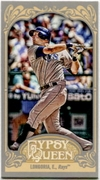 2012 Topps Gypsy Queen Mini Evan Longoria Variation Baseball Card